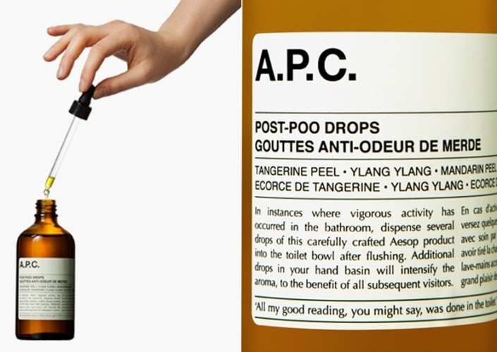 Aēsop Post-Drops for feisty stench quelling.